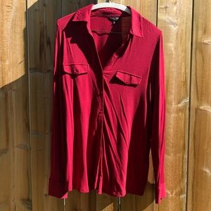 2 for 15$ 😍 Long sleeve stretch red shirt